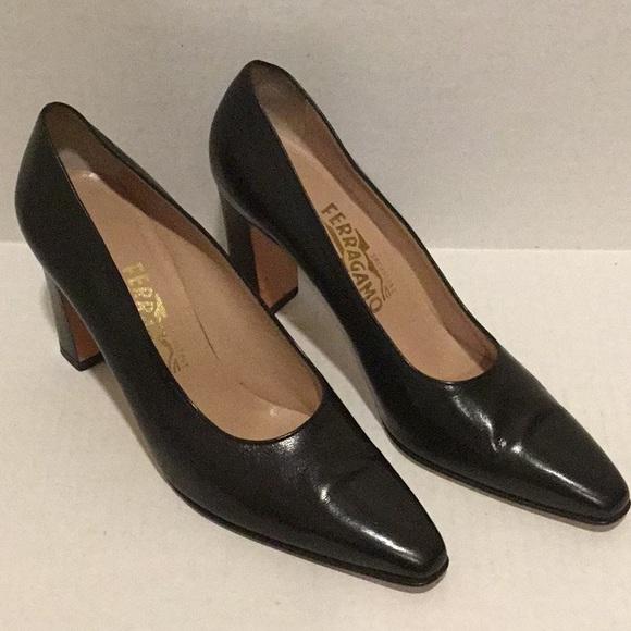 3f1fde4abdb1 SALVATORE FERRAGAMO FLORENCE Shoes Women Black. M 5abc2c023b160883a14dfe0e
